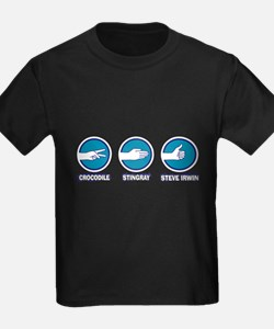 Crocodile, Stingray, Steve Irwin T-Shirt