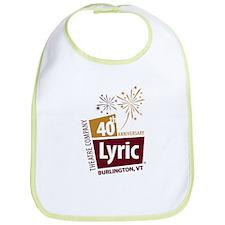 Lyric 40th Anniversary Bib