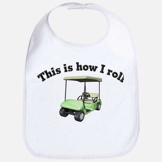 howiroll golf Baby Bib