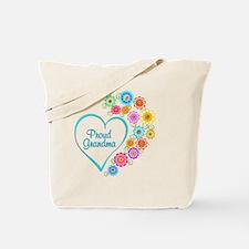 Cute Proud grandma Tote Bag