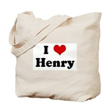 I Love Henry Tote Bag