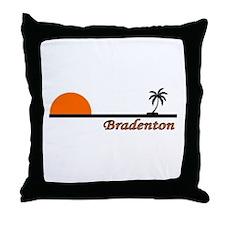 Bradenton, Florida Throw Pillow