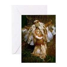 Mother and Baby Spirit Doll Greeting Card