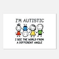 I'm Autistic Postcards (Package of 8)