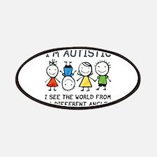 I'm Autistic Patches
