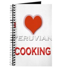 I Love Peruvian Cooking Journal