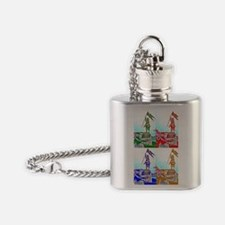 Joan of New Orleans Flask Necklace