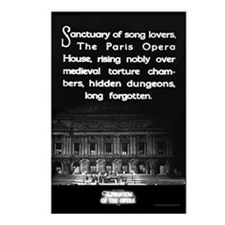 Paris Opera House Postcards (Package of 8)