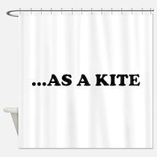 High Kite Shower Curtain