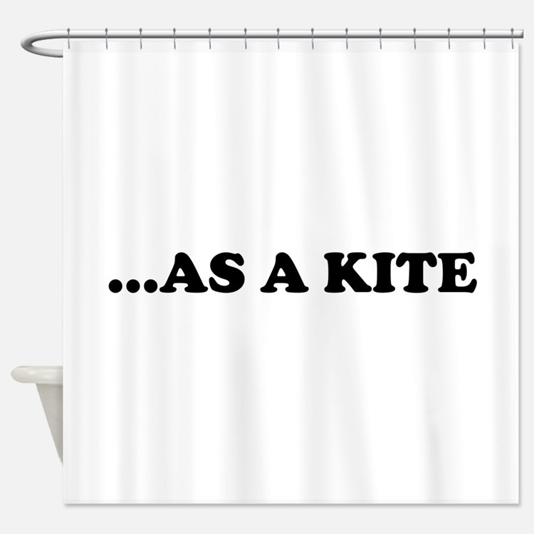 High Kite Shower Curtain