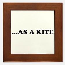 High Kite Framed Tile