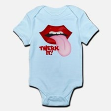 Twerk It Tongue Infant Bodysuit