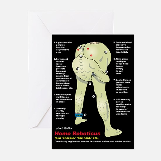 Cool Gnostic Greeting Cards (Pk of 10)