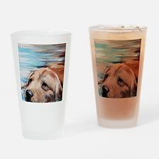 Swim Drinking Glass