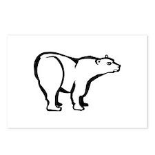 Polar Bear Postcards (Package of 8)