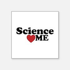 Science Loves Me Sticker