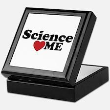 Science Loves Me Keepsake Box