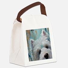 Drip Canvas Lunch Bag