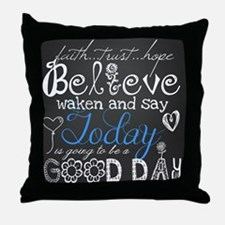 A Good DayThrow Pillow