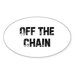 Off The Chain Oval Decal