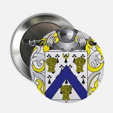 """Masters Coat of Arms - Family Crest 2.25"""" Button"""