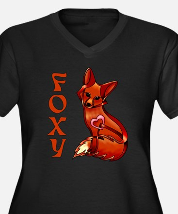 Foxy Goddess Proportioned T-Shirt