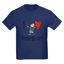 Boy I Love Kindergarten T-Shirt