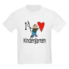 Boy I Love Kindergarten T-Shirt