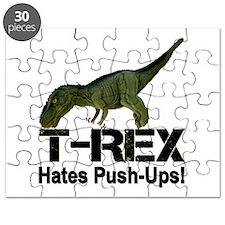 T-Rex Hates Push-ups! Puzzle