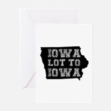 Iowa Lot To Iowa Greeting Cards (Pk of 20)