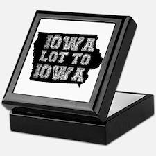 Iowa Lot To Iowa Keepsake Box