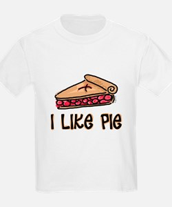 I Like Pie Ash Grey T-Shirt T-Shirt
