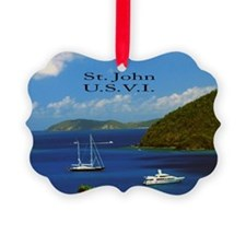 Paradise Boating Ornament