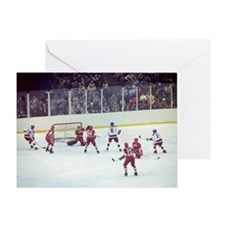 Miracle on Ice Greeting Card
