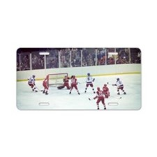 Miracle on Ice Aluminum License Plate