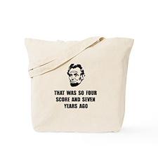 Lincoln So Tote Bag