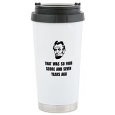 Lincoln So Travel Mug