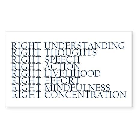 Noble Eightfold Path sticker