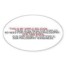 Dalai Lama quote sticker