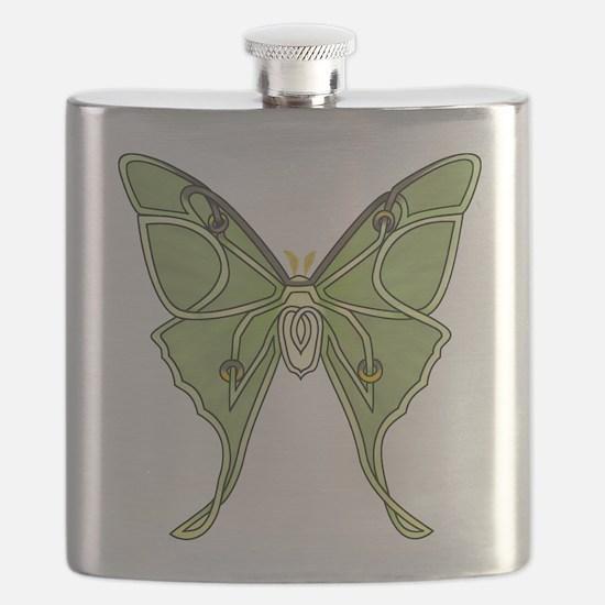 Luna Moth Flask
