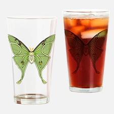 Luna Moth Drinking Glass