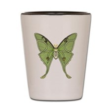 Luna Moth Shot Glass