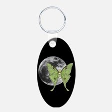 Luna Moth Keychains