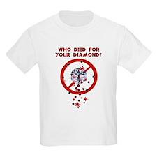 Conflict Diamonds Kids T-Shirt