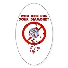 Conflict Diamonds Oval Decal