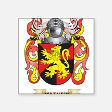 Mathew Coat of Arms - Family Crest Sticker
