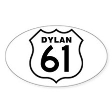 Dylan 61 Oval Stickers