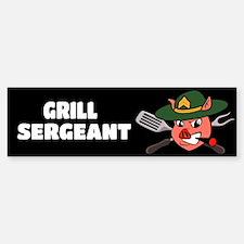 Grill Sergeant Bumper Bumper Sticker