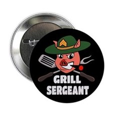 "Grill Sergeant 2.25"" Button (10 pack)"
