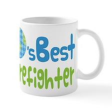 Earths Best Firefighter Mug